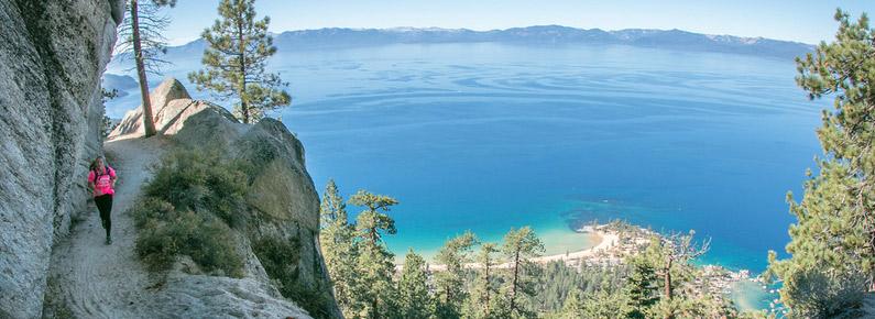 Lake Tahoe Flume Trail Fall Classic Half Marathon