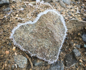 Frosty Heart Rock